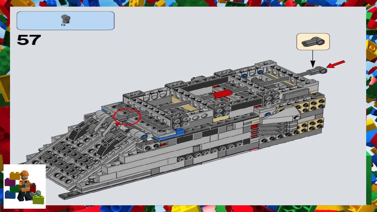 Lego Instructions Star Wars 75103 First Order Transporter