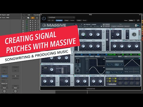 Creating Signal Patches with Massive | Super Saw | Music Production | Songwriting | Berklee Online