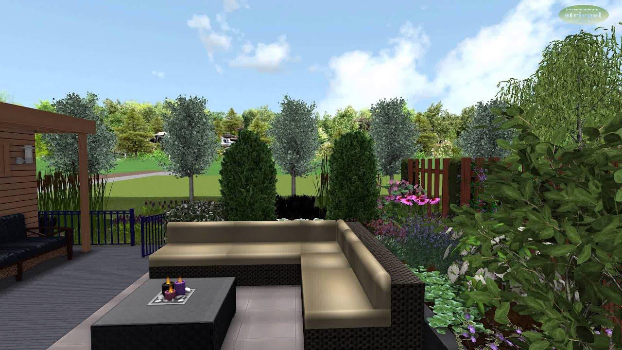 3d tuin ontwerp nieuwbouw hardinxveld youtube