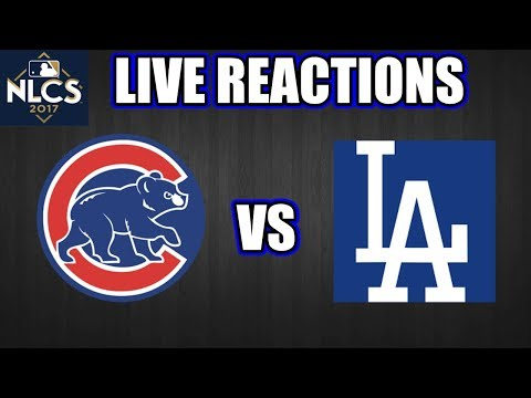 Cubs vs Dodgers live Reactions