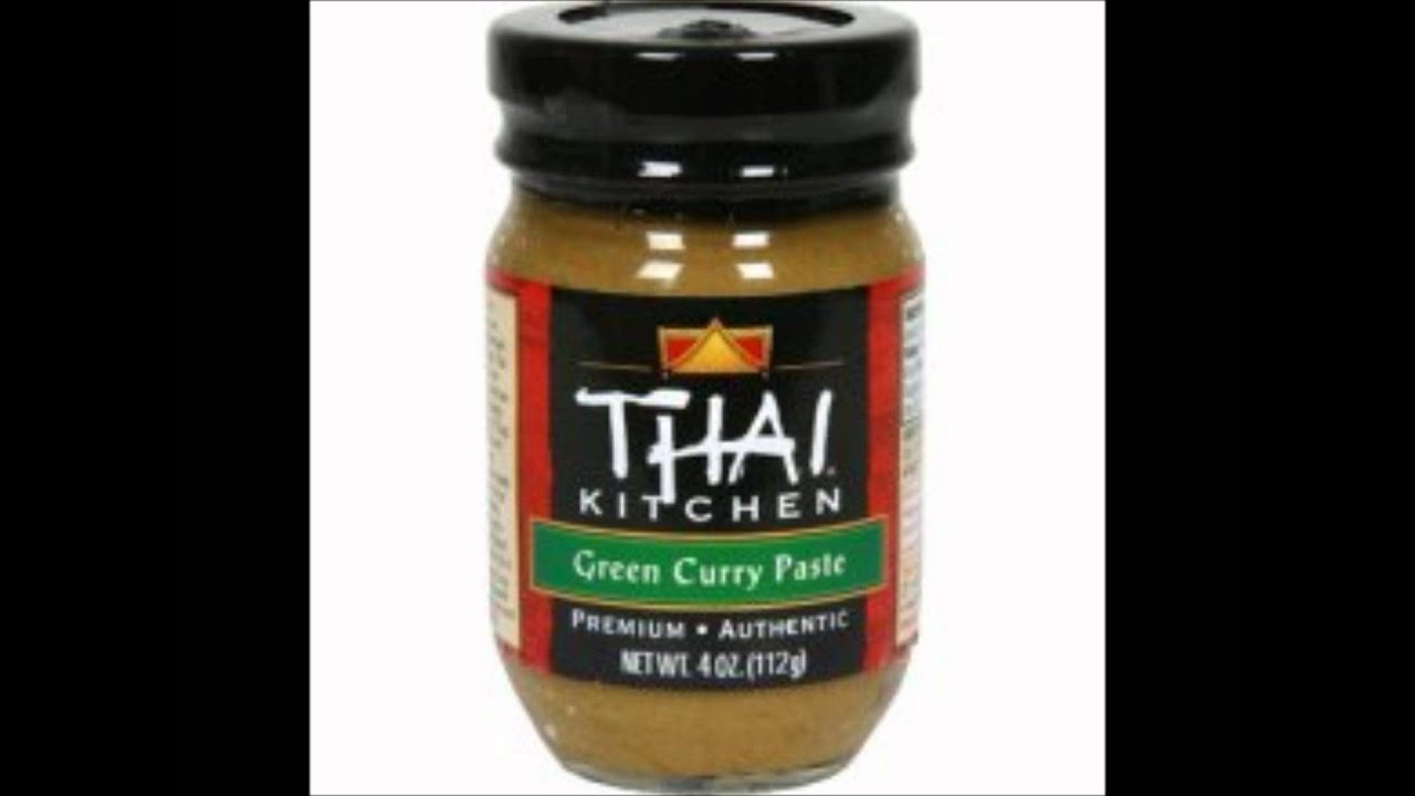 Superior Thai Kitchen Green Curry Paste   YouTube Pictures Gallery