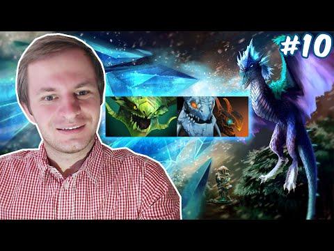 Dota 2 - Winter Wyvern | Тактика трех драконов #10