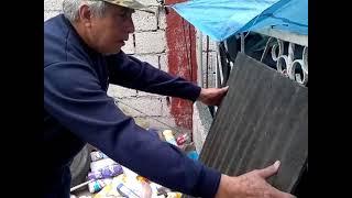 Reciclado de llantas y plasticos de la basura