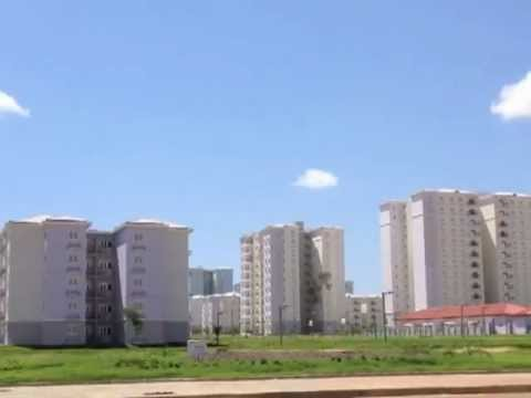Kilamba Kiaxi, outside Luanda Angola, from ghost town to hot property