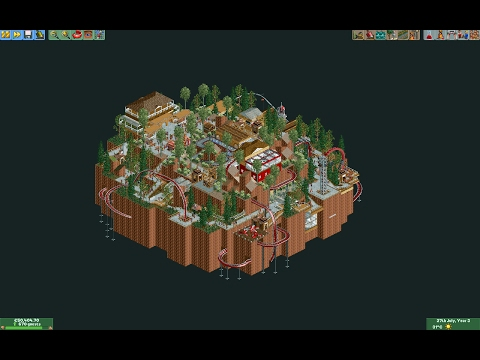 Repeat [RCT2][TimeLapse] Lucky Lake by OzOz OzOz - You2Repeat