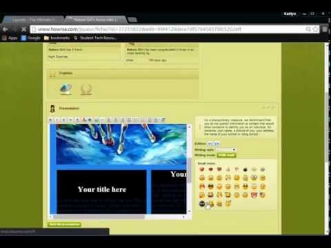how to put a layout on your howrse page - youtube, Powerpoint templates