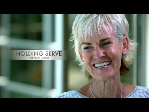Holding Serve with Judy Murray