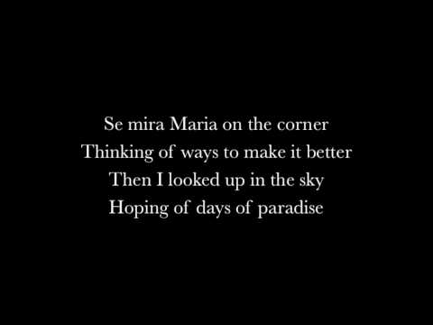 Santana - Maria maria (ft. The Product G&B) Lyrics