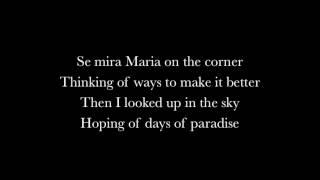 Santana - Maria maria (ft. The Product G&B) Lyrics