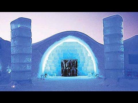 Incre ble los hoteles de hielo m s hermosos del mundo - Los banos mas bonitos ...