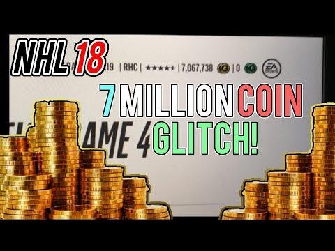 NHL 18 HUT | 7 million coins GLITCH! WHAT HAPPENED?!