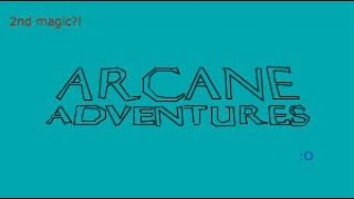 Unlocking My Second Magic :O - Roblox Arcane Adventures