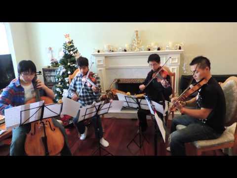 """Violin String Quartet """"Christmas Medley"""""""