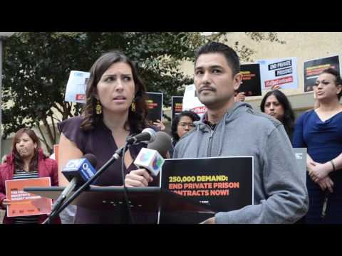 Jaime Valdez Reyes Speaks Out Against Private Detention