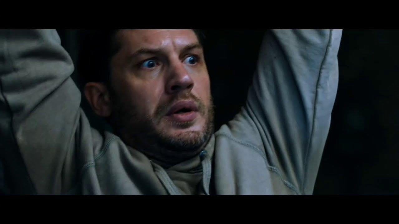 Том Харди в фильме - Веном  Venom, 2018 / Эдди Брок против наёмников / Фрагмент