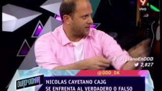 VERDADERO O FALSO - NICOLAS CAYETANO CAJG - PRIMERA PARTE - 12-09-14