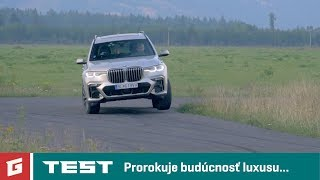 BMW X7 M50d xDrive - 4WD - SUV - TEST - GARAZ.TV
