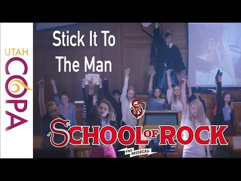 Stick It To The Man | SCHOOL OF ROCK: The Musical cover by Utah COPA