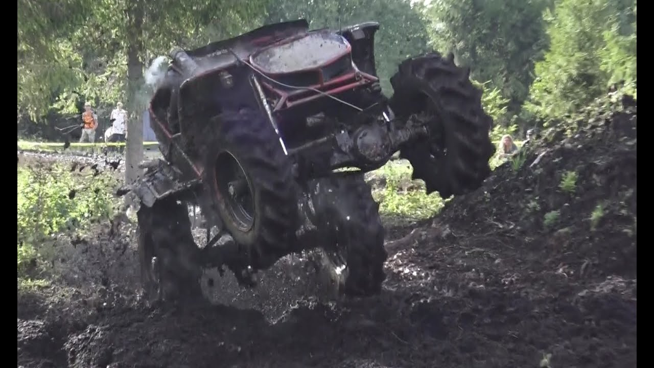 Off-Road vehicles in Mud field
