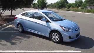 2014 Hyundai Accent GLS Sedan Walkaround, Start up, Tour, Overview and Review