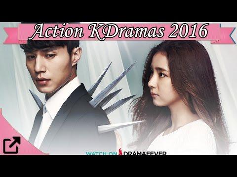 Top 25 Action Korean Dramas 2016 (All The...