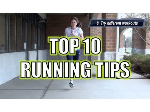 Running Tips - Top 10 from Tips4Running