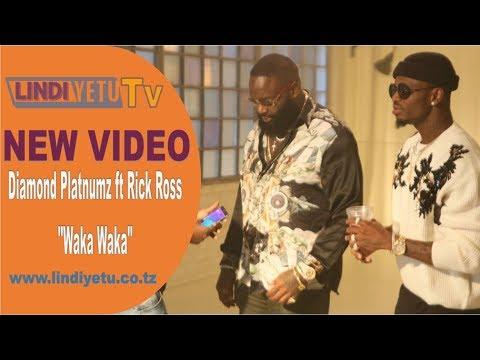 Diamond Platnumz ft Rick Ross - Waka Waka (New Video)