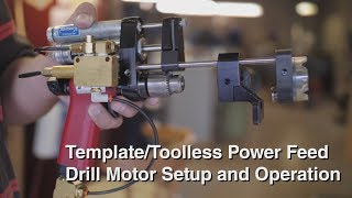 Andrews Tool Co - Power Feed Drill Template Tool