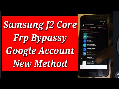 Samsung j2 Core 2018 Frp Unlock/ Bypass google account 100% done by Mobile  Tech