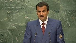 ملخص خطاب أمير دولة قطر أمام الجمعية العامة للأمم المتحدة