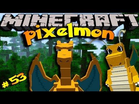 Pixelmon ! Minecraft Pokemon Mod!! Episode 53- LAVA FALLS!!