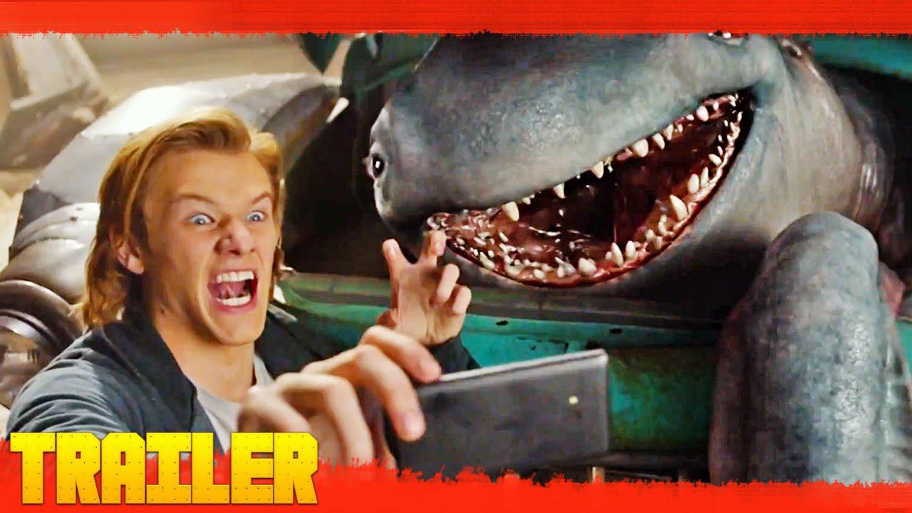 Monster Trucks 2017 Primer Tr 225 Iler Oficial Espa 241 Ol Youtube