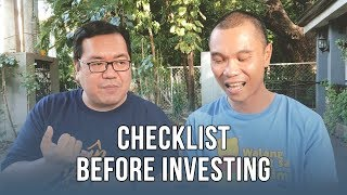 Checklist Before Investing