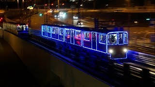 【4K】南港ポートタウン線イルミネーション列車100-31Fトレードセンター駅周辺動画集