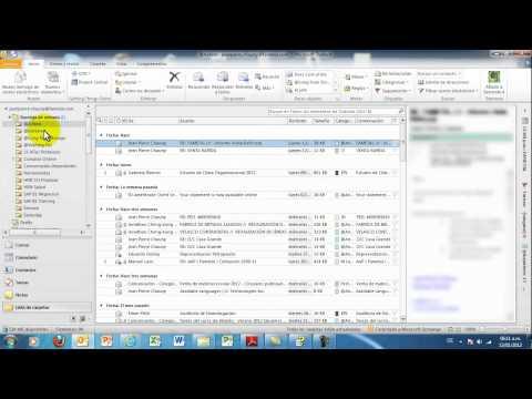 Activar Vista De Conversaciones En Outlook 2010