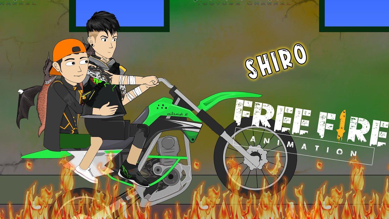 Animation Free Fire - Ketemu Shiro Auto Copotin Kepala Musuh - Yu Animasi
