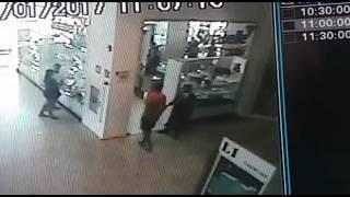 Vídeo mostra assalto que vitimou PM no Norte Shopping