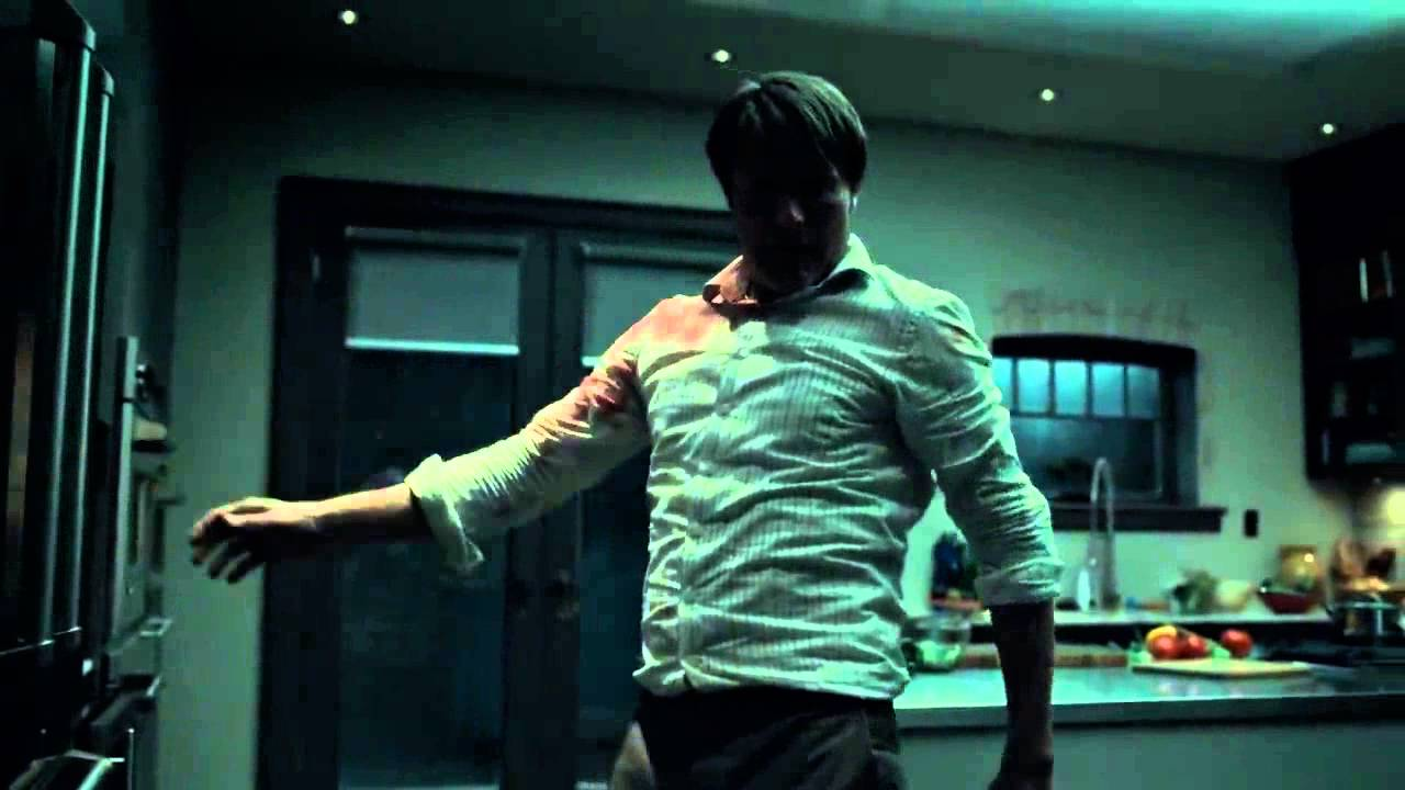 Hannibal vs Jack | Fight Scene | Season 2 - YouTube