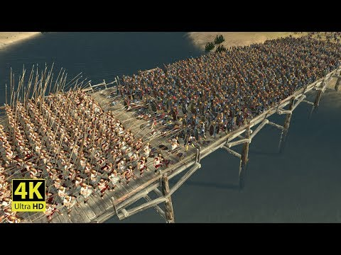 300 SPARTANS Vs 12800 BEST EGYPTIAN UNITS - ROME 2 Total War (4K Gameplay)
