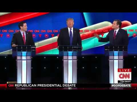 This interaction from tonight's GOP debate