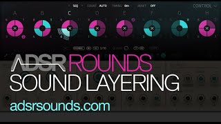 NI Rounds - Basic sound layering and chord sound design - how to tutorial