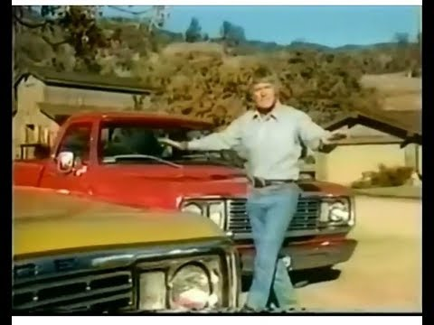 Dodge Pickup Truck Commercial Chuck Connors, 1976