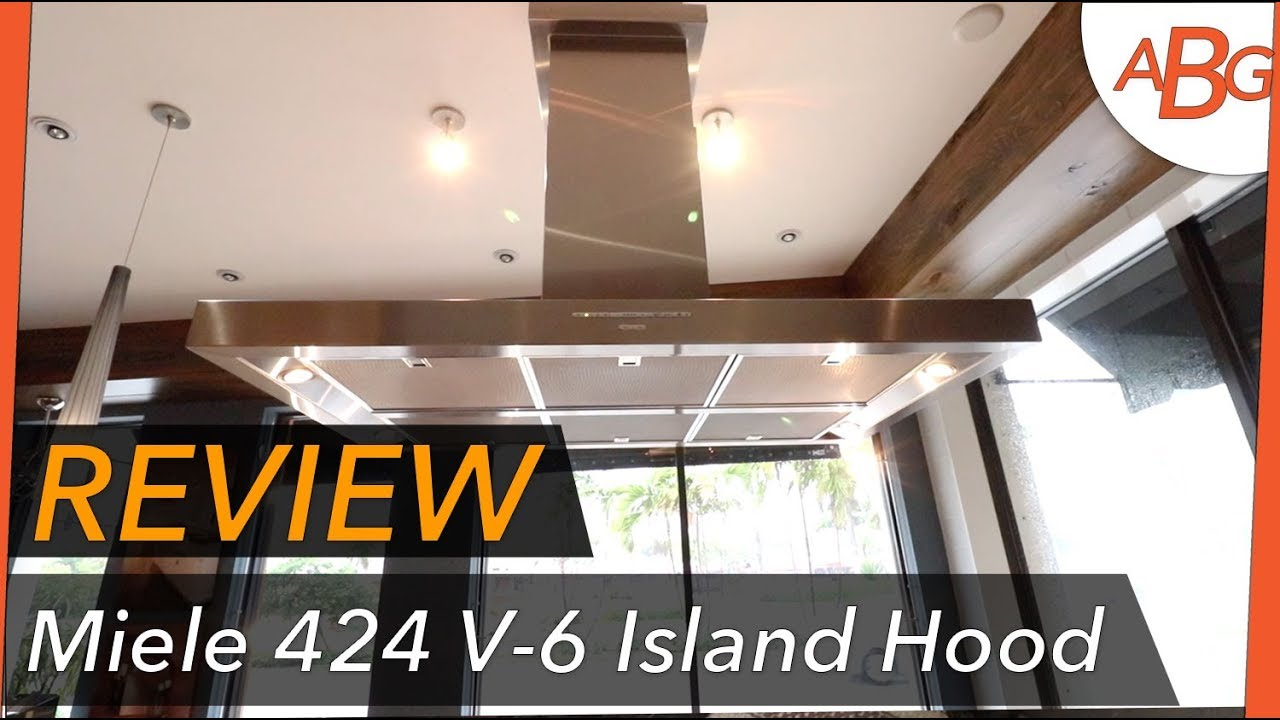 Reviewed Miele Da 424 V 6 Island Hood Best Island Hood Youtube