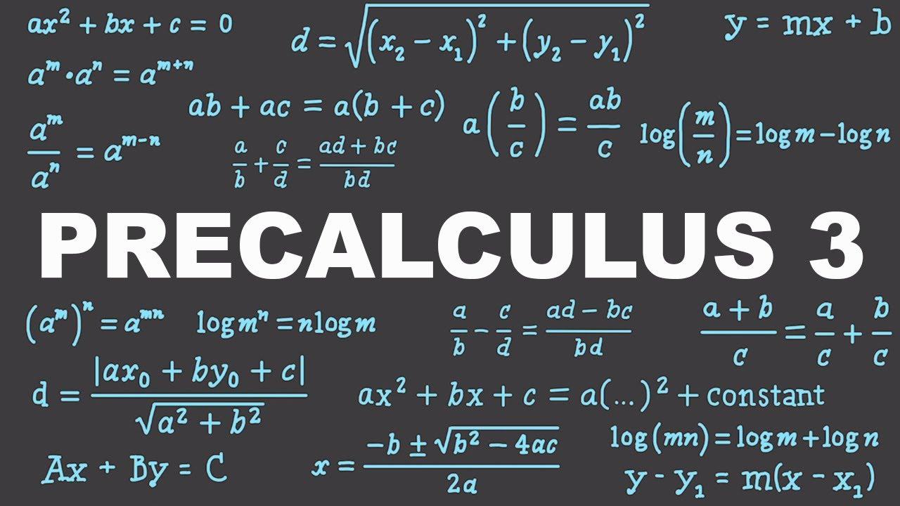 Precalculus 3 : Exponents & Polynomials