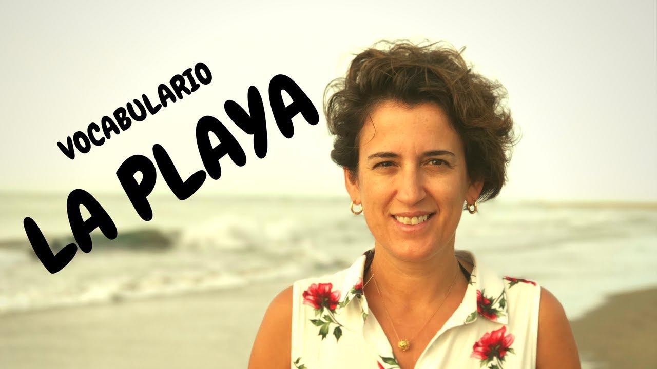 🌊🌊ESPAÑOL PARA VERANO. VOCABULARIO en la PLAYA: ESPAÑOL para VACACIONES (NIVEL BÁSICO). ESPAÑOL.#17