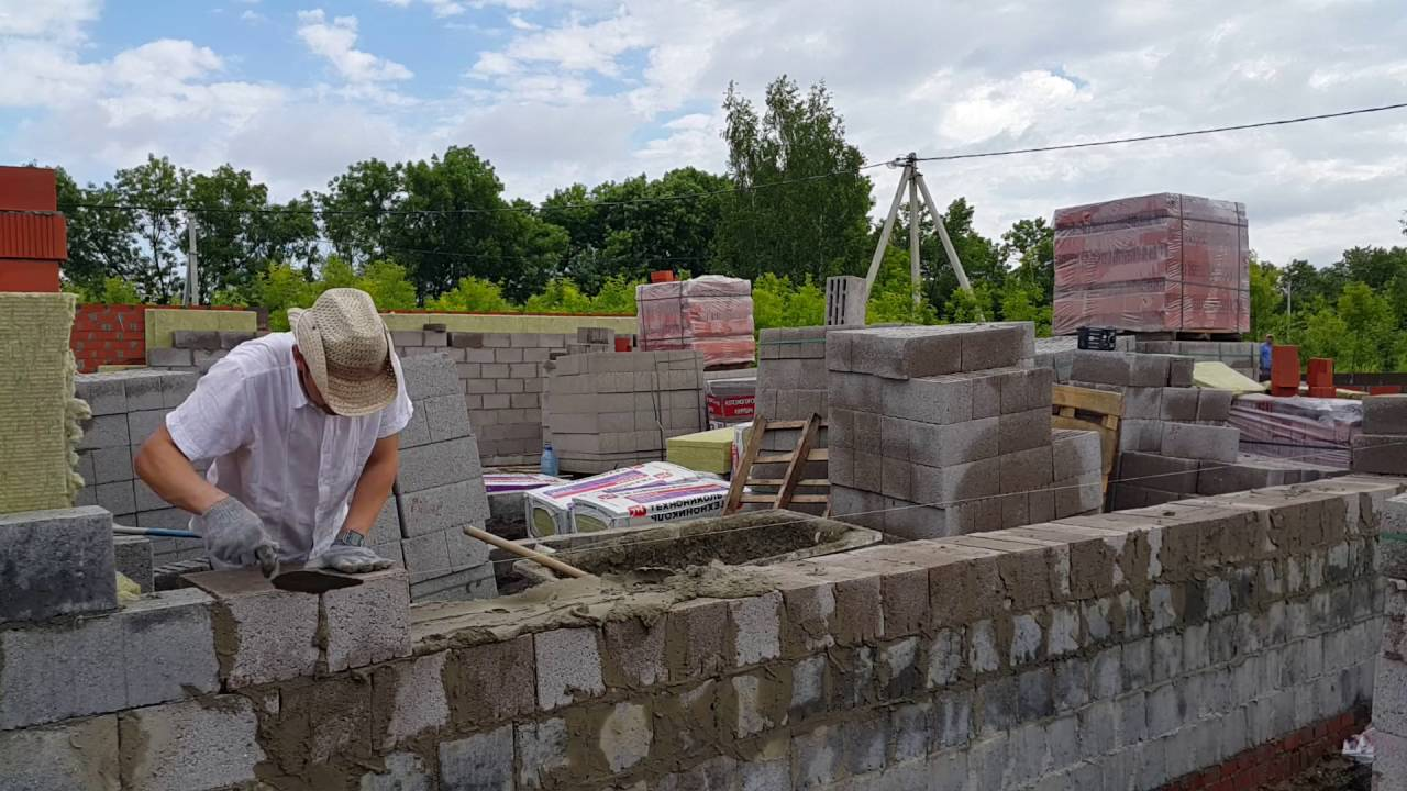 Керамзитобетонные блоки строительство своими руками