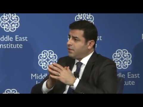Keynote by Selahattin Demirtas, Peoples' Democratic Party HDP 15 Ocak 2016