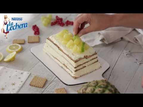 como hacer tarta de piña