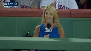 MIN@BOS: Red Sox hold second annual Operation Shower