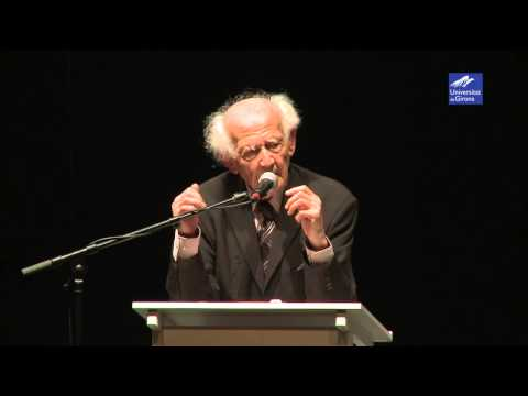 """""""Europe: Birthday or Death Agony?"""" - Zygmunt Bauman (Girona)"""
